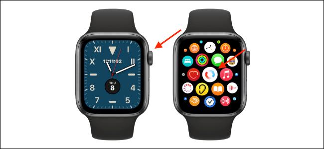 Abra la aplicación Blood Oxygen en Apple Watch