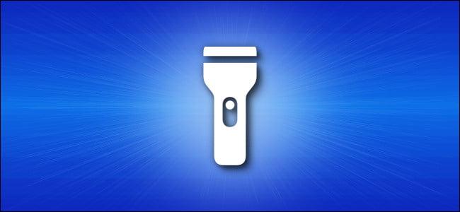Icono de linterna de iPhone iOS