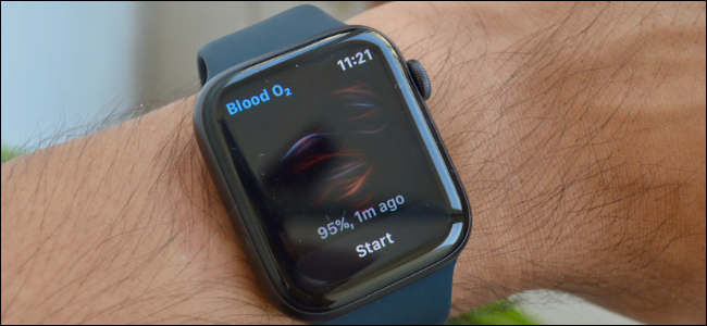 Aplicación Blood Oxygen para Apple Watch Series 6