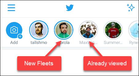 estado de flotas de twitter